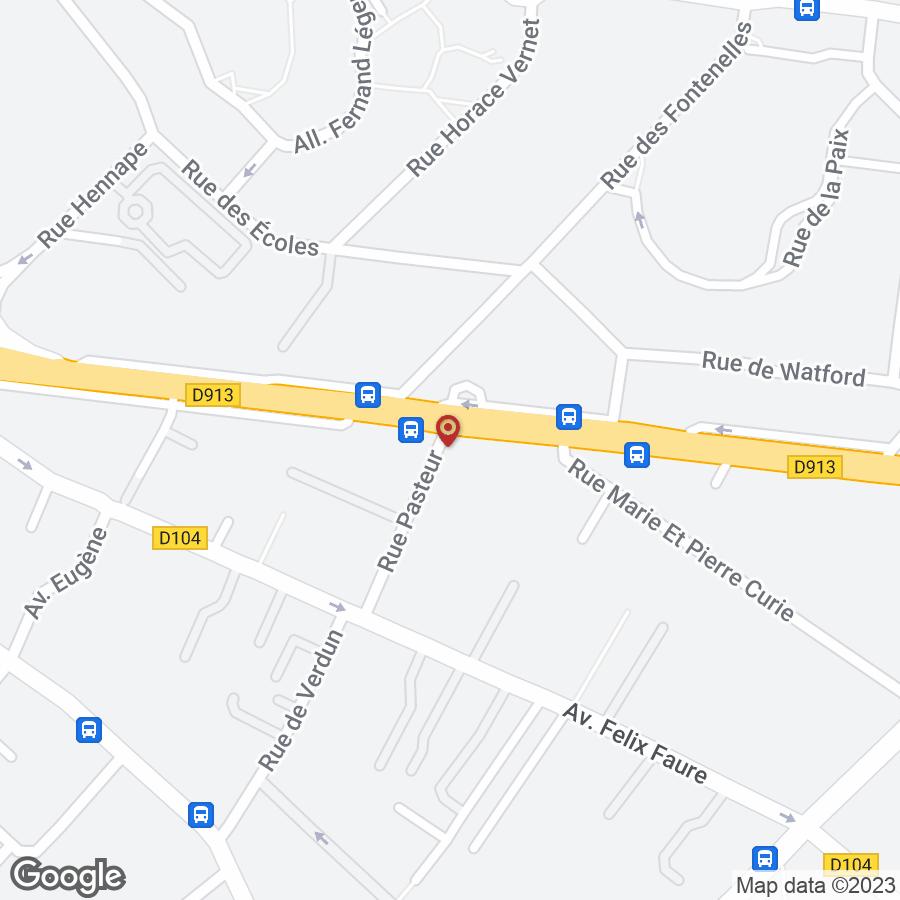 CER PASTEUR-CLEMENCEAU à Nanterre
