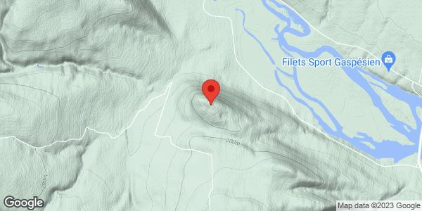 Mont Pesaq - Plaque de tempête