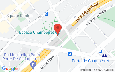 Espace Champerret Place de la Porte Champerret75017 Paris
