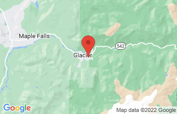Map of Glacier
