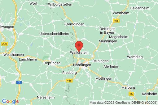 Karte Wallerstein