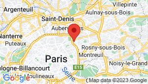 Carte de localisation du centre de contrôle technique LE PRE SAINT GERVAIS