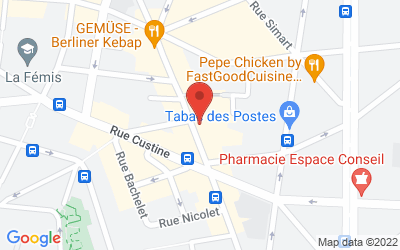 34 Rue Ramey, 75018 Paris, France