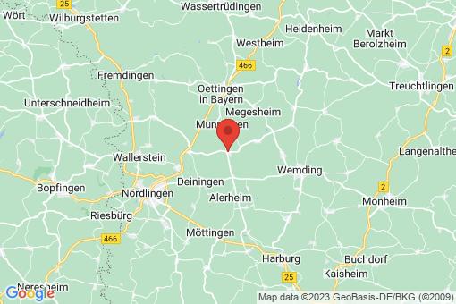 Karte Wechingen