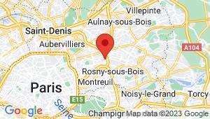 Carte de localisation du centre de contrôle technique NOISY LE SEC