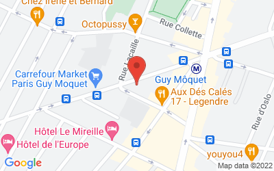 54, rue Guy Moquet, Paris, 75017 Paris, France