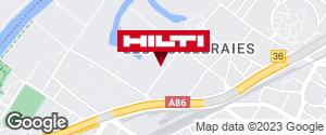 Espace Hilti - La Plateforme du Bâtiment - Nanterre (rue Fondrières)