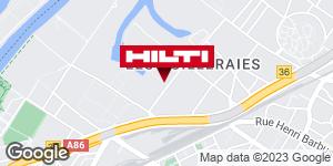 Espace Hilti - La Plateforme du Bâtiment - Nanterre (rue Clémenceau)