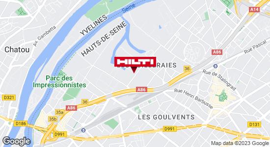 Espace Hilti - La Plateforme du Bâtiment - Pierrelaye