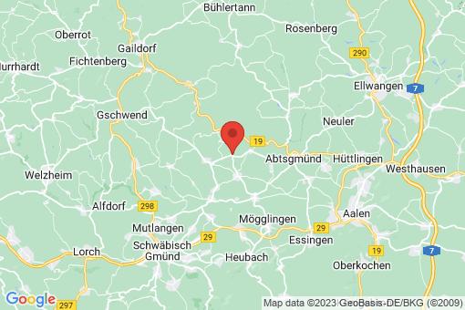 Karte Obergröningen