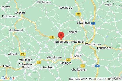 Karte Abtsgmünd