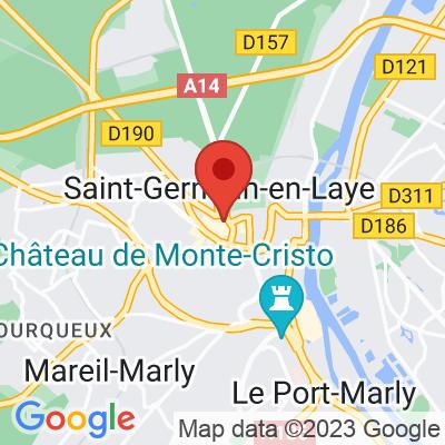 Map showing Felicity's Café