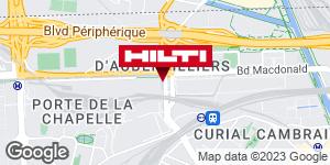 Espace Hilti - La Plateforme du Bâtiment - Paris 19ème