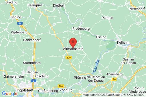 Karte Altmannstein