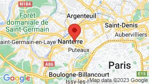 Carte de localisation du centre de contrôle technique LA GARENNE COLOMBES