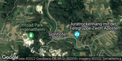 Google Map of Solnhofen