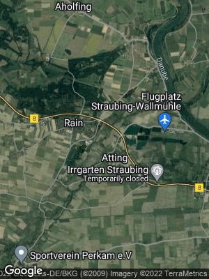 Google Map of Atting bei Straubing