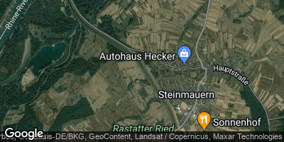 Google Map of Steinmauern