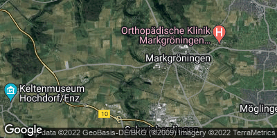 Google Map of Markgröningen