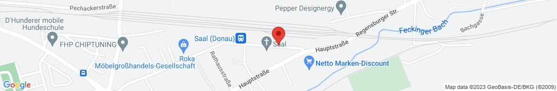 BayWa AG Kelheim-Saal Anfahrt