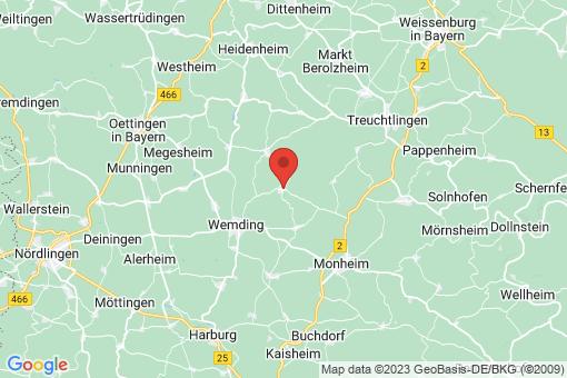 Karte Wolferstadt