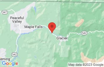 Map of Glacier