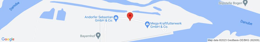 BayWa Agrar Straubing-Sand Anfahrt