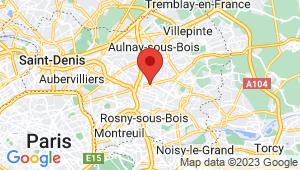 Carte de localisation du centre de contrôle technique LES PAVILLONS SOUS BOIS