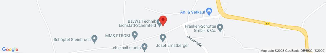 BayWa Technik Eichstätt-Schernfeld Anfahrt