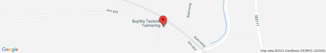 BayWa Technik Taimering Anfahrt