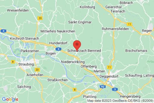 Karte Schwarzach