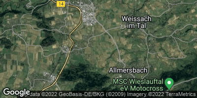 Google Map of Heiningen