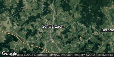 Google Map of Schwarzach