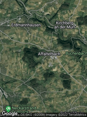 Google Map of Affalterbach