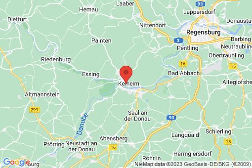 Karte Kelheim