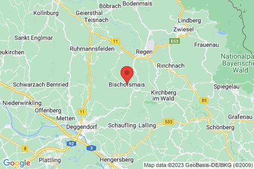Karte Bischofsmais