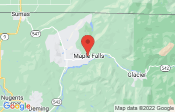 Map of Maple Falls
