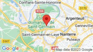 Carte de localisation du centre de contrôle technique LE MESNIL LE ROI