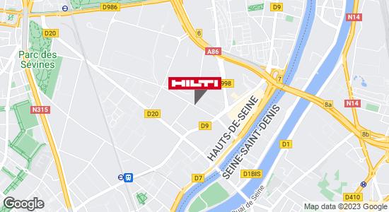 Espace Hilti - La Plateforme du Bâtiment - St Denis