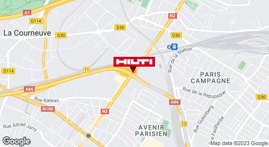 Espace Hilti - La Plateforme du Bâtiment - La Courneuve