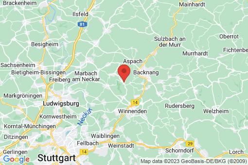Karte Burgstetten