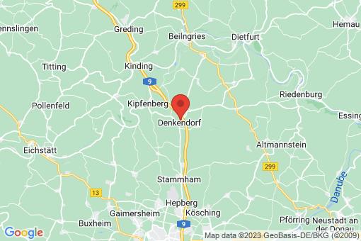 Karte Denkendorf