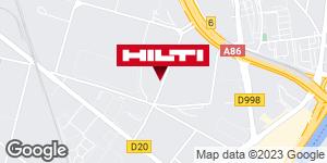 Espace Hilti - La Plateforme du Bâtiment - St Brice sous forêt