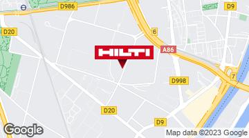 Get directions to Espace Hilti - La Plateforme du Bâtiment - Villeneuve la Garenne