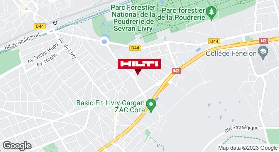 Get directions to Espace Hilti - La Plateforme du Bâtiment - Livry-Gargan