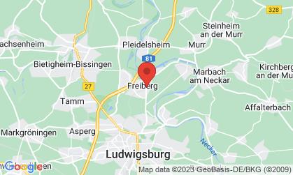 Arbeitsort: Freiberg am Neckar