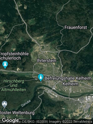 Google Map of Ihrlerstein