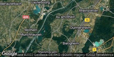 Google Map of Elchesheim-Illingen
