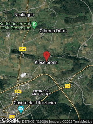 Google Map of Kieselbronn