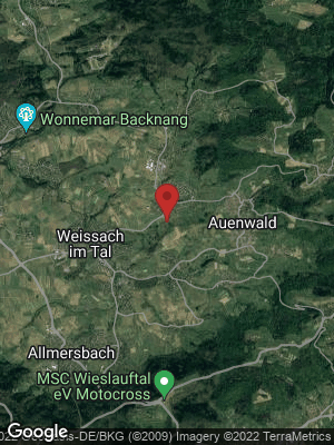 Google Map of Auenwald